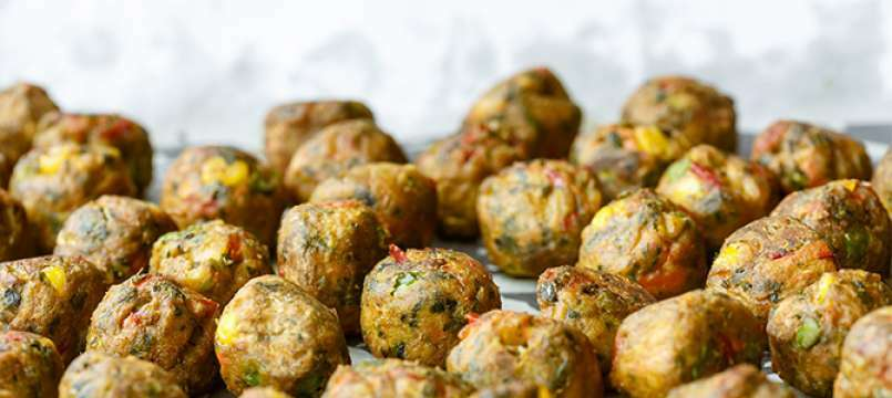 Polpette vegetariane ricette semplici e gustose da for Ricette vegetariane