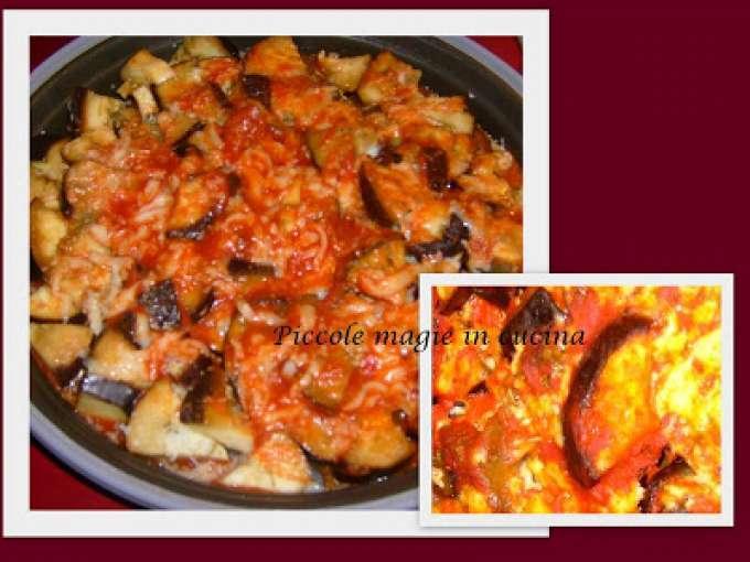 Melanzane pizzaiola al microonde ricetta petitchef for Ricette microonde