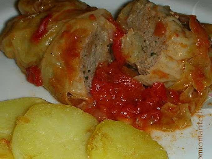 Involtini di verza con carne macinata ricetta petitchef for Ricette carne veloci