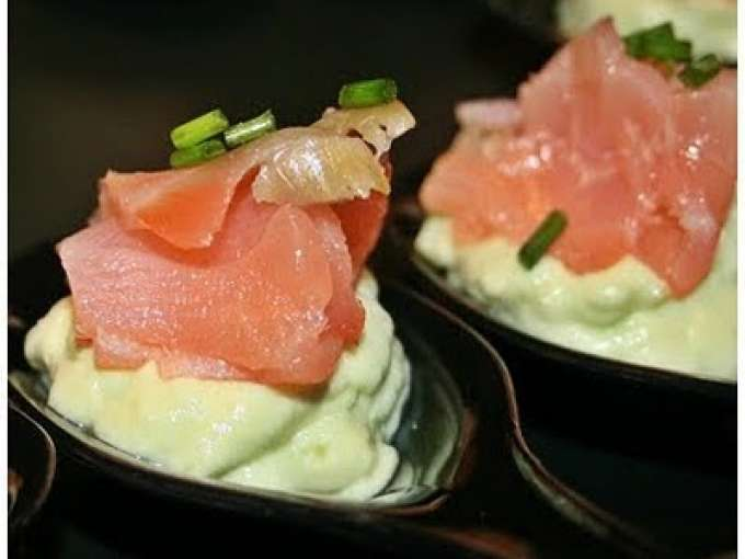Finger food con salmone 9 ricette petitchef for Finger food ricette