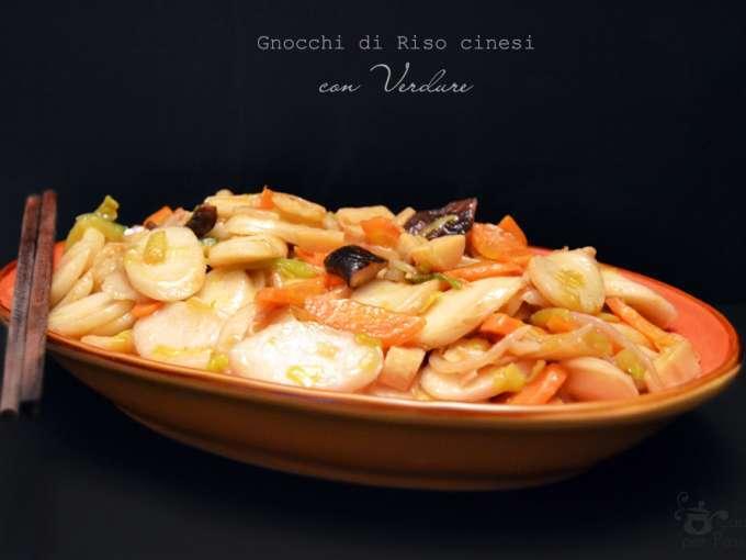 Gnocchi di riso cinesi con verdure ricetta petitchef for Ricette cinesi riso