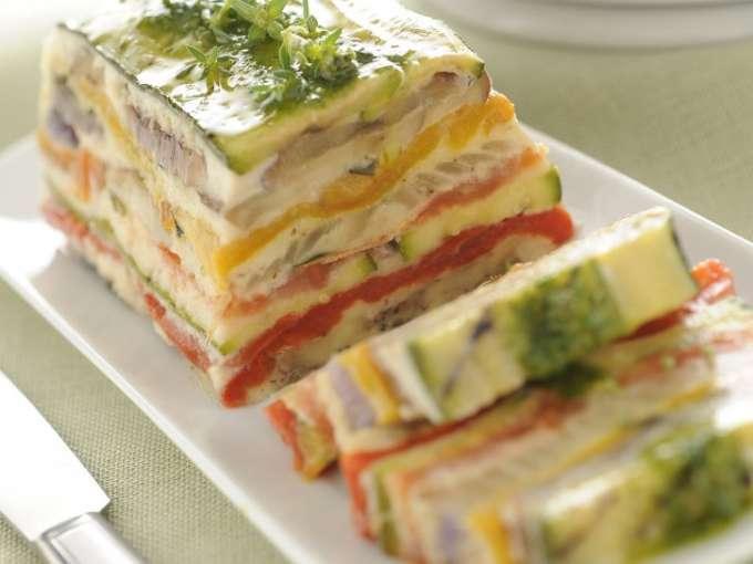 Terrina di verdure grigliate ricetta petitchef for Ricette di verdure