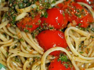 Ricetta Linguine all'eoliana