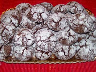 Ricetta Crinkles cookies bianchi e neri