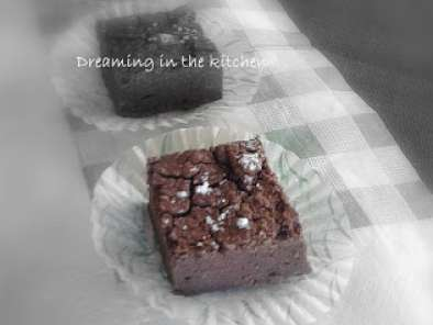 Ricetta Black bean brownies - extra light & vegan
