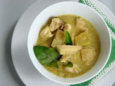 Ricetta Thai green curry (with chicken)