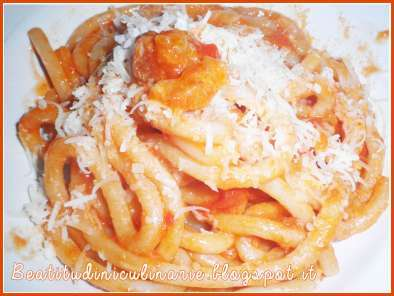 Ricetta Pici all'amatriciana