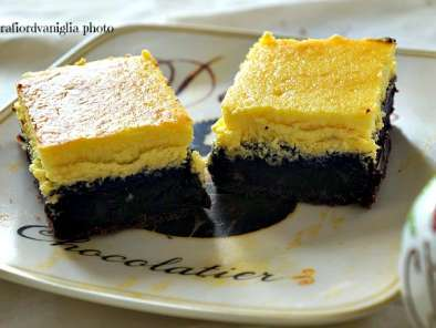 Ricetta Brownie cheesecake
