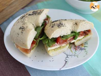 Ricetta Bagel all'italiana