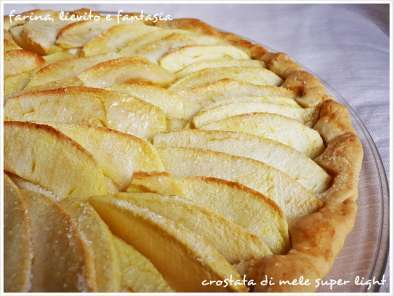 Ricetta Crostata di mele super light