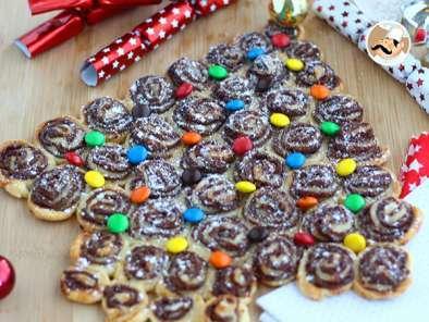 Albero Di Natale Pasta Sfoglia E Nutella.Albero Di Sfoglia Alla Nutella Ricetta Petitchef