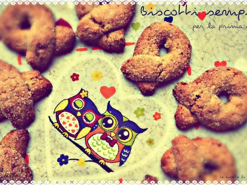 Ricetta Biscotti Semplici.Biscotti Semplici All Avena