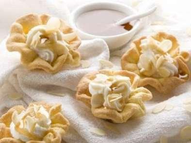 Cestini Di Pasta Frolla Con Yogurt E Miele Di Castagno Ricetta Petitchef