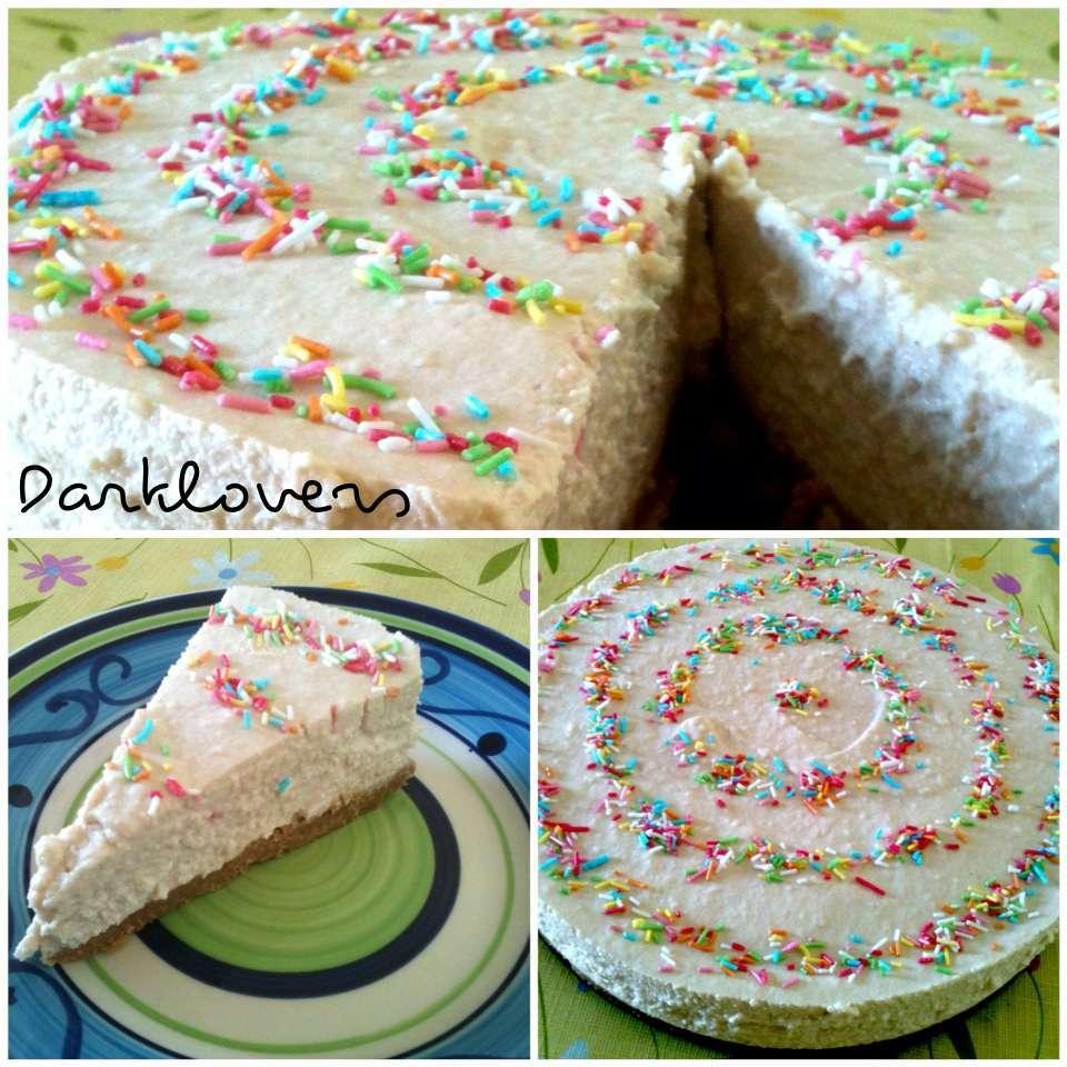 Super Cheese cake con cocco e cioccolato bianco, senza gelatina  FX08