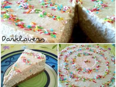 Cheese Cake Con Cocco E Cioccolato Bianco Senza Gelatina Ricetta