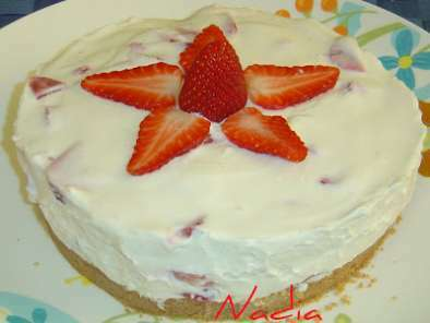 CHEESE CAKE YOGURT FRAGOLE