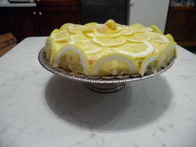 Crostata al limone con pasta frolla e pan di spagna, Ricetta Petitchef