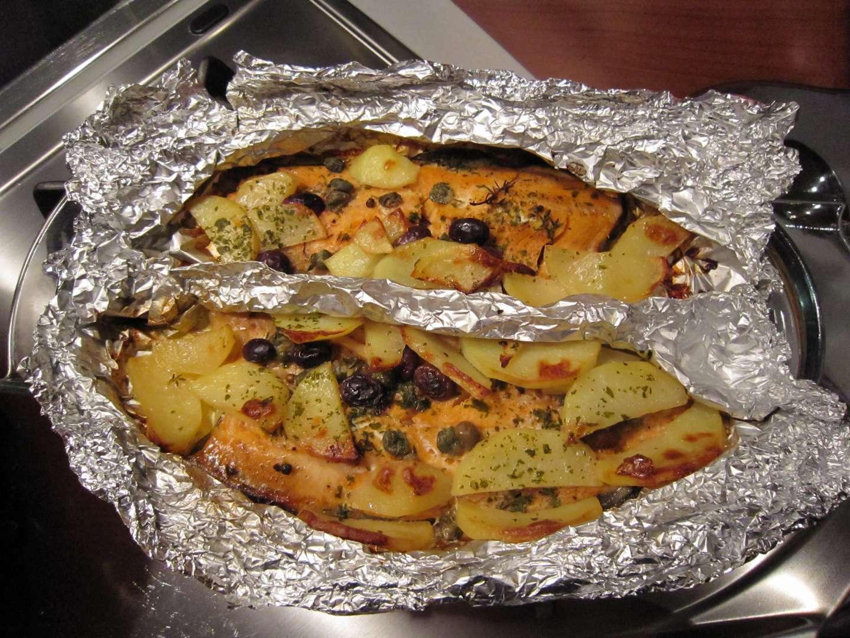 Fileeto di trota salmonata al cartoccio, Ricetta Petitchef