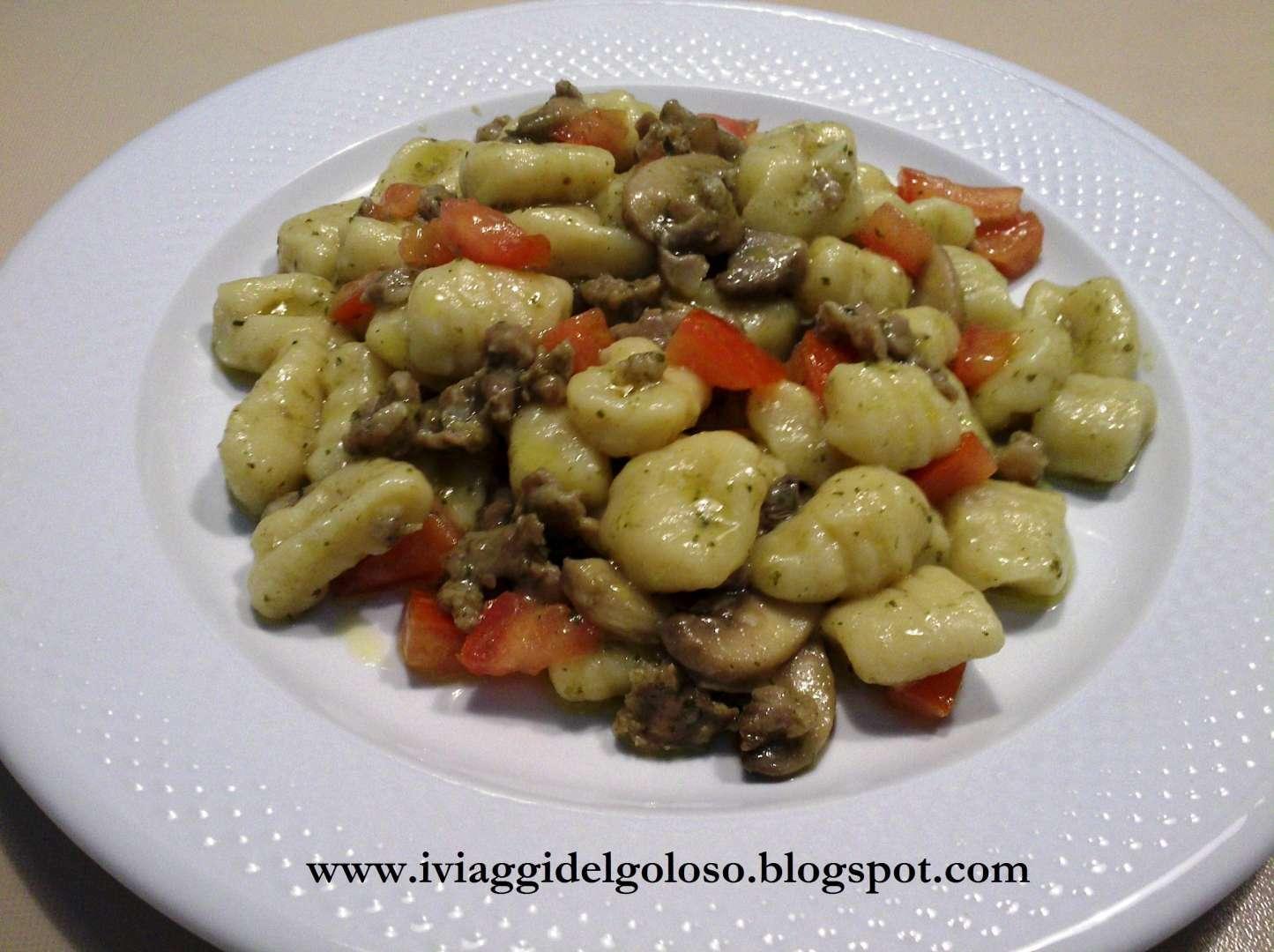 Ricette Gnocchi Con Funghi.Zdjp7pm5hr3fum