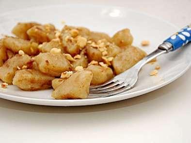 Gnocchi di topinambur in salsa leggera di bagna caoda e nocciole ...