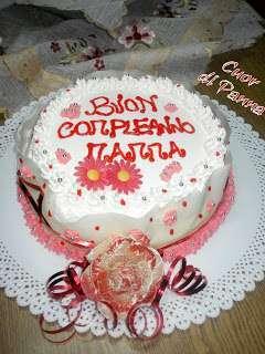 Torta Buon Compleanno Mamma.La Torta Di Compleanno Per La Mamma Ricetta Petitchef