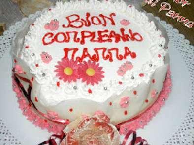 La torta di compleanno per la mamma!