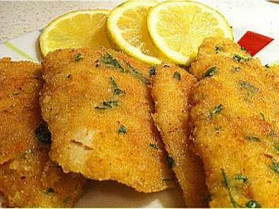 filetti di merluzzo impanati foto 2