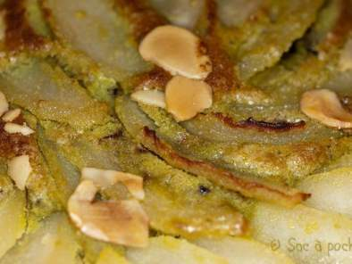 Coups de coeur: torta pere mandorle e pistacchi