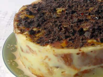 Mousse di budino al pistacchio e panettone Loison