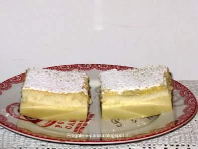 Torta magica al pistacchio