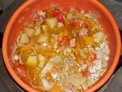 Minestrone ungherese