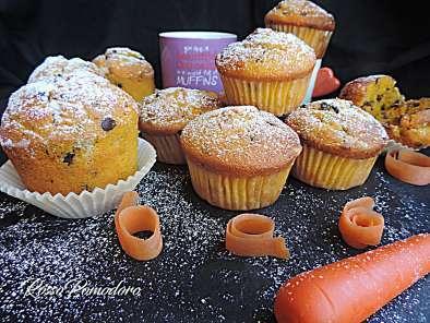 Ricetta Muffin Alle Carote.Muffin Alle Carote E Cioccolato Senza Burro Ricetta Petitchef