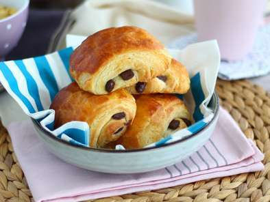 Pain au chocolat - Fagottini al cioccolato francesi