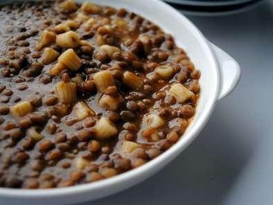 Ricetta pasta e lenticchie rosse