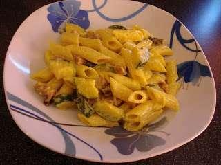 Ricetta Pasta Zucchine E Zafferano.Pasta Zucchine Speck E Zafferano Ricetta Petitchef