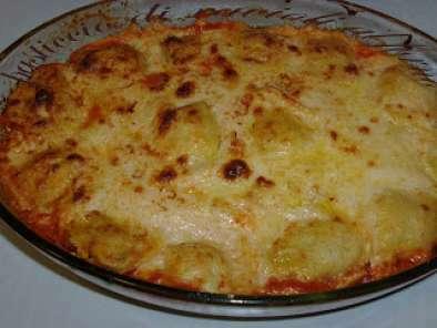 Ravioli ricotta e spinaci al forno
