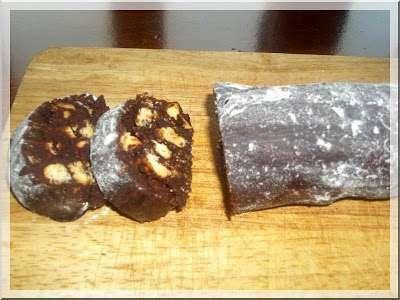 Menu Di Natale Anna Moroni.Salame Di Cioccolato Di Anna Moroni Ricetta Petitchef