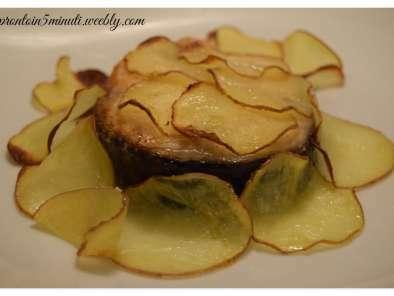 ricetta di salmone al forno con patate
