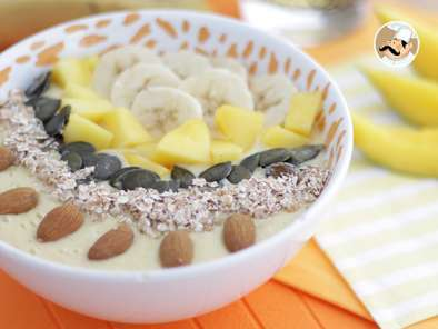 Smoothie bowl mango e banana