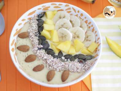 Smoothie bowl mango e banana, Foto 2