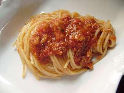 Spaghetti Al Tonno Acciughe Ricetta Petitchef