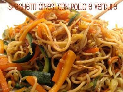Ricetta cinese spaghetti saltati