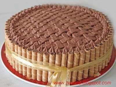 torta con decorazione effetto canestro ricetta petitchef