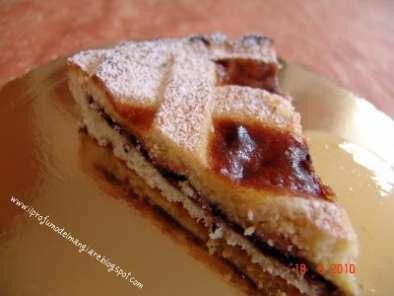 Ricetta torta con marmellata e crema