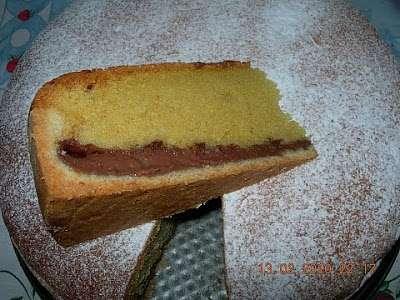 Torta Con Pasta Frolla Mascarpone Nutella E Panna Ricetta Petitchef