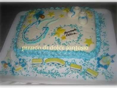 Torta Nascita Bimbo