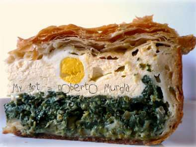Torta Pasqualina Ricetta.Torta Pasqualina A 33 Sfoglie