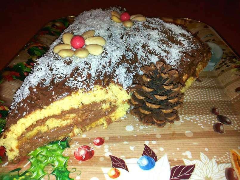 Ricetta Tronchetto Di Natale Alla Nutella.Tronchetto Di Natale Mascarpone E Nutella