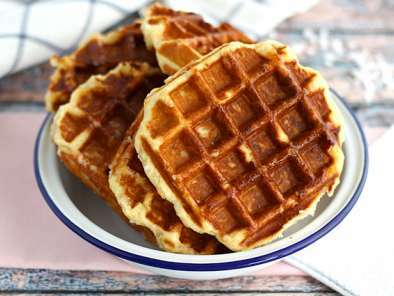 Waffle Ricetta Originale Americana.Waffle Di Liegi La Ricetta Originale Ricetta Petitchef