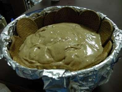 Zuccotto al mascarpone e caff con decorazione in mmf for Decorazione zuccotto